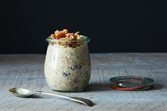 How to Make Overnight Oats Without a Recipe  on Food52 (I'd like to try this, and I want the jars!!)