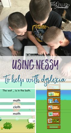 Using Nessy to Help With Dyslexia - Awe Filled Homemaker