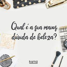 Conta pra gente!   #instabeauty #instahair #cosmetics #igers #duvida #beleza #cabelo #cabelos #cosmetico #cosmeticos #dermato #dermatologia #dermo #dermocosmetico #dermocosmeticos #kutiz #kutizbeaute #kutizcosmeticos #makeup #maquiagem #saude