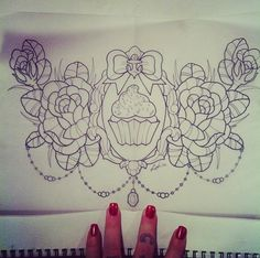 36 Trendy Ideas For Tattoo Rose Sketch Heart Girly Tattoos, Trendy Tattoos, Rose Tattoos, Tatoos, Chest Tattoos For Women, Chest Piece Tattoos, Sternum Tattoo, Back Tattoo, Tattoo Sketches