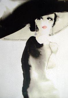 Fashion illustration by Bridget Davies. Ligne Claire, Fashion Sketches, Fashion Illustrations, Illustration Fashion, Limited Edition Prints, Love Art, Painting & Drawing, Fashion Art, Illustrators