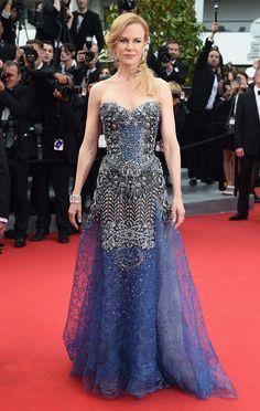 Cannes 2014 Nicole Kidman lució un vestido de Armani Privé en la alfombra roja del Festival de Cannes.