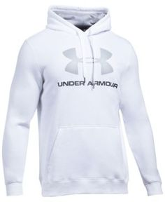 Under Armour Men's Rival Fleece Logo Hoodie - Under Armour Outfits, Under Armour Men, Under Armour Sweatshirts, Stylish Hoodies, Clothing Logo, Hoodie Outfit, Man Outfit, Gym Style, Trends