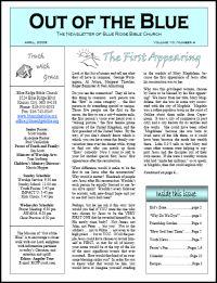 newsletter samples