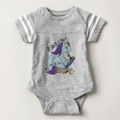 #cute #baby #bodysuits - #Chubby Unicorn Eating a Rainbow - A Magical Mess Baby Bodysuit