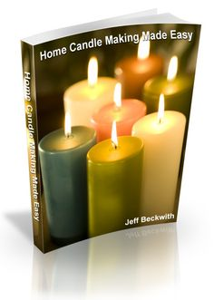 Candle Making Is A Perennially Popular Craft. This E Book Especially Appeals To Beginners And Is An Easy Sell. All available at http://coreaffinityliving.com/candle-making.html