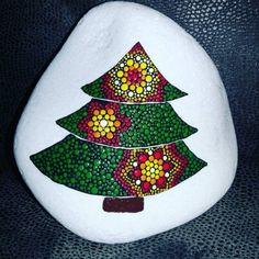 steine bemalen kreative bastelideen weihnachten