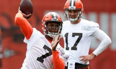 Hue Jackson thinks DeShone Kizer coming along faster than expected = The Cleveland Browns selected former Notre Dame Fighting Irish quarterback DeShone Kizer in the second round of the 2017 NFL Draft. While the young quarterback is slated to serve as a backup for Cleveland as a rookie in 2017-18, it appears.....