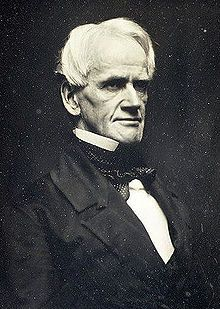 """Horace Mann, """"Father of the Common School Movement"""" in America, former Congressman, education reformist and @Brown University alum."""