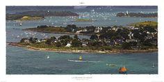 Poster photo Bretagne La Semaine du Golfe - Morbihan - Philip Plisson (1024x512)