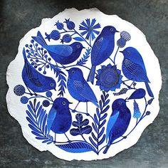 Seven Bluebirds | Geninne