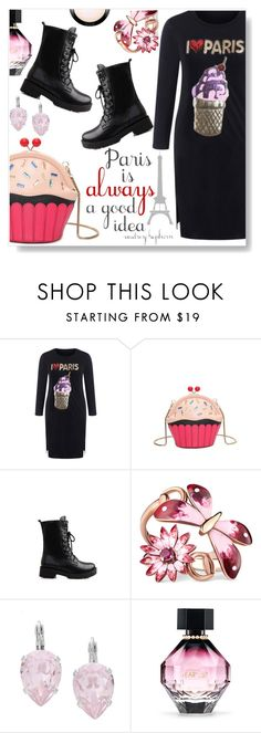 """""""Paris is always a good idea !"""" by simona-altobelli ❤ liked on Polyvore featuring Gucci, L. Erickson, Victoria's Secret and MAC Cosmetics"""