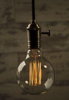 Large Globe Squirrel Filament Light Bulb HUNKYDORYHOME