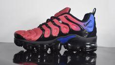 Dependable Nike Vapor Max Plus Black Team Red Hyper Violet AQ4550 001 Men s  Running Shoes Sneakers 882806200