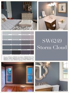 Sherwin Williams   Storm Cloud To Use On Stair Wall, Courtyard Wall, Guest  Bath. Interior Paint ...