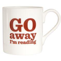 Go away I'm reading!