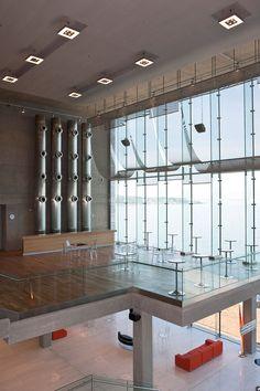 Thessaloniki #Greece Concert Hall B by Arata Isozaki