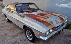1971 Mercury Capri GT mine was red Mercury Capri, Rat Look, Lincoln Mercury, Ford Capri, Vw Cars, Abandoned Cars, Barn Finds, Mk1, Custom Cars