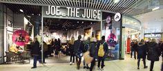 Joe the Juice by Riis Retail Aarhus Denmark Aarhus, Joe And The Juice, Food Retail, Interior Photography, Store Fronts, Retail Design, Brand Identity, Denmark, Visual Merchandising