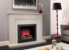Lareira-elétrica–Modelos-e-fotos Home Theaters, Casa Art Deco, House 2, Decoration, Corner Fireplaces, Fireplace Ideas, Design, Home Decor, Decorative Fireplace