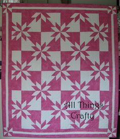 Hunter's Star Quilt using AccuQuilt Go dies: this is on my non e mai troppo tardi list