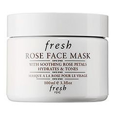 I use this before bed (wear it to bed) after each wedding - very relaxing - Fresh - Rose Face Mask  #sephora