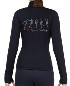 Figure Skating Polar Fleece Fitted Jackets by Polartec with Rhinestones R224 Child Small * To view further for this item, visit the image link. (This is an affiliate link)