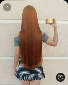 Long Red Hair, Long Natural Hair, Grow Long Hair, Natural Hair Styles, Long Hair Styles, Fire Hair, Beautiful Red Hair, Hair Flow, Rapunzel Hair