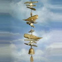Sperm Whale Double Wind Chime