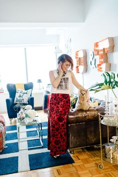 Style At Home: Dara Kent-Cobb Of Preston & Olivia | theglitterguide.com