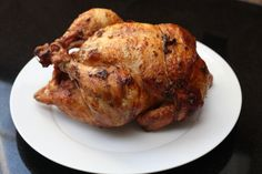 Rotisserie Chicken with a Garlic Wet Rub