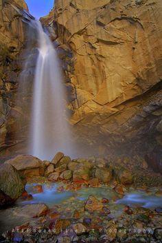 Waterfall in Skardu, Pakistan