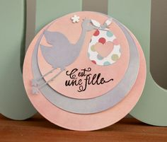 Etsy - Shop for handmade, vintage, custom, and unique gifts for everyone Scrapbooking, Camille, Decorative Plates, Etsy, Home Decor, Invitations, Cards, New Babies, Save The Date Cards