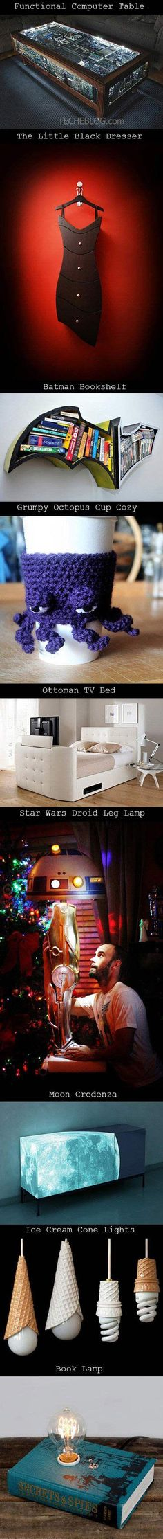 For the geek home…I WANT IT ALL!!!!