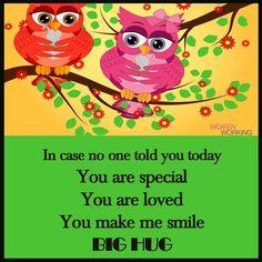 I Smile, Make Me Smile, You Make Me, Love You, You Are Special, Big Hugs, Hug Me, Words, Movie Posters