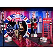 Have fun with a personalized London themed party by Stumps Party! Add fun to your party with customized decorations and table supplies.