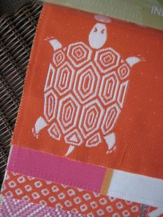 Turtle Pattern OutDoor Fabric - Living With color Designs