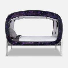 The Bed Tent Starry Constellation Vans For Kids, Floor Bed Frame, Bedroom Furniture Sets, Bedroom Decor, Bedroom Sets, Furniture Ideas, Van Conversion Interior, Futon Bed, Bed Tent