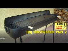 Fabrication barbecue / BBQ Construction (Part.2) - YouTube