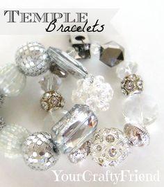 Your Crafty Friend: Temple Bracelet