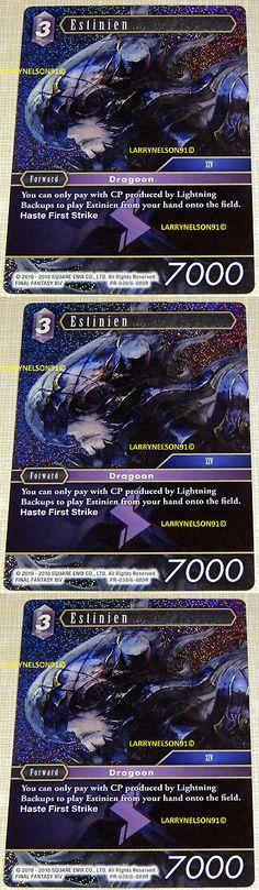 Final Fantasy TCG: Opus 8 Godo 8-140S Foil Structure Deck Card Wind