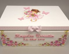 This cozy personalized box is perfect to keep some precious stuff inside. The box is made to order. The box can be personalized with any special details, such as baby name, initials, date of birth or a special message. Just please send me instructions on checkout. Dimensions: 35 x 24 x 15 cm