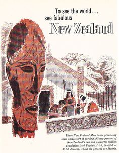 See New Zealand Visit New Zealand, New Zealand Travel, New Zealand Adventure, Kiwiana, Ways Of Seeing, The Beautiful Country, Largest Countries, Vintage Travel Posters, Travelogue