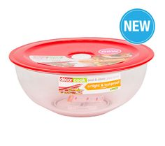 227500, Bowl, Lid, 3L, Cook, Decor Cook Related Products Decor Cook®Non-Slip Colander Decor Cook®Non-Slip Mixing Bowl 3.0 L