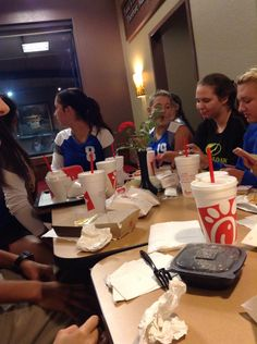[9.1.16] Chick Fli A after a victorious volleyball game!#homeschoolers #Breakerfam