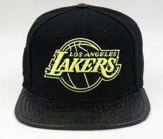 brand new 4b0af 3705a Pro Standard Los Angeles Lakers NBA Logo Strapback Hat
