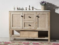 1000 Images About Rustic Bathroom Vanities On Pinterest
