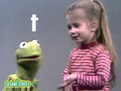Sesame Street: Kermit and Joey Say the Alphabet! Just the cutest thing in the world! P.S. wait till the end:)