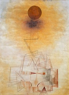 """Bounds of the Intellect"" Paul Klee"