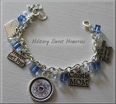 COAST GUARD, COAST GUARD MOM, COASTIE MOM, Military Mom, USCG, Proud Coast Guard Mom, I love my coastie, Mother's Day Gift